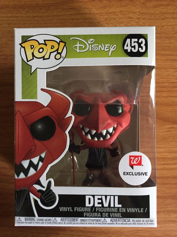Funko pop the devil Walgreens exclusive Disney the nightmare before Christmas