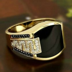 *SALE* 2 Tone Onyx Black Ring Sizes 6/7/8/9 *See My Other 800 Items* for Sale in Palm Beach Gardens,  FL