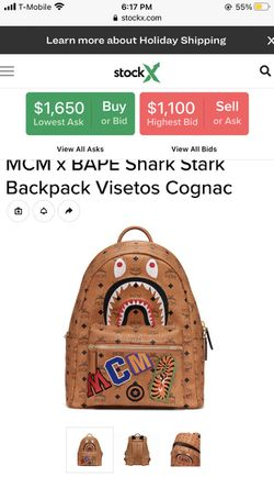 Bape/Mcm Collab Backpack for Sale in Des Moines,  IA