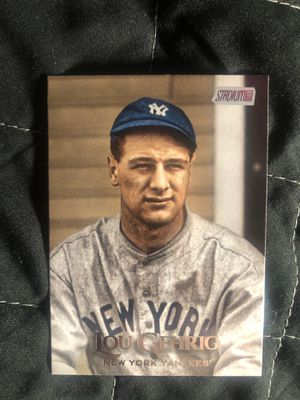Lou Gehrig baseball card for Sale in Compton, CA