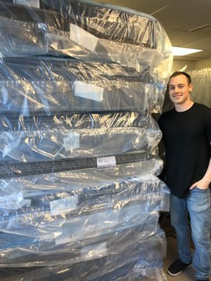 Gorgeous New Mattress Set - Box Springs Included - 18 Set Style Selections on Display for Sale in Manassas, VA
