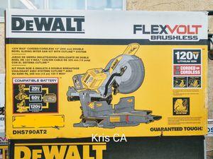 Dewalt flexvolt sliding miter saw 120v tool only for Sale in La Puente, CA
