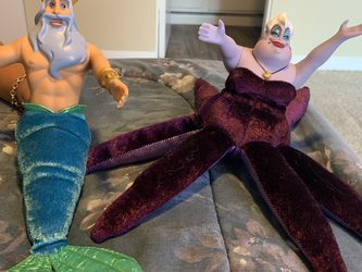 Ursula And King Triton for Sale in Houston,  TX