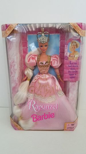 2001 Rapunzel Barbie Doll by Mattel! Walt Disney! New in Box, Never Opened! for Sale in Las Vegas, NV