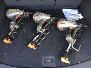 Paslode models F350s nail guns 150 each for Sale in Mechanicsville, MD