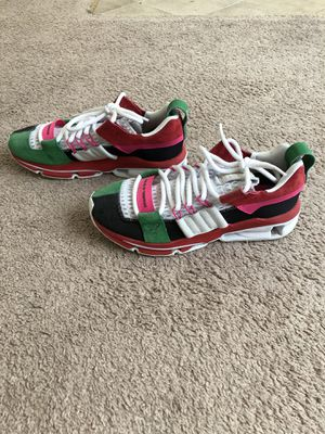 Adidas Twinstrike ADV Black White Green Multi-Red Christmas (sz. 9) RARE for Sale in Baltimore, MD