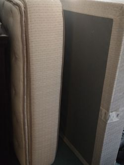 PPU: Queen pillow top Mattress And Foundarion for Sale in Acworth,  GA