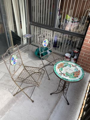 Patio set (3 pieces) for Sale in Chevy Chase, DC