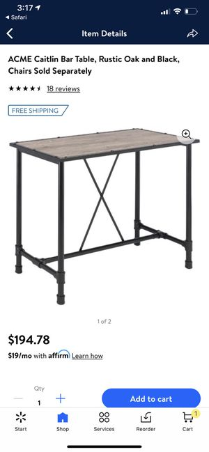 Bar table for Sale in Bakersfield, CA