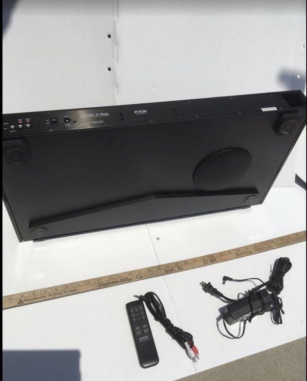 Zvox 550 Soundbar (better than Bose) Speaker w/ Built in Subwoofer-All in One Home Theater w/ Remote and Cables ($500 when new) Like New Condition $50