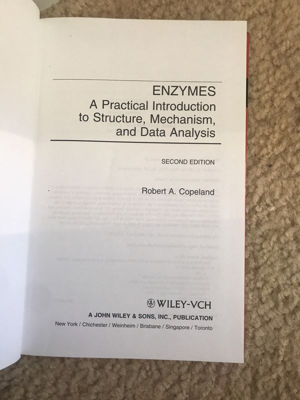 Enzymes second edition