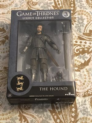 Game Of Thrones Funko Legacy Collection: GOT - The Hound Action Figure New for Sale in Spring Hill, FL