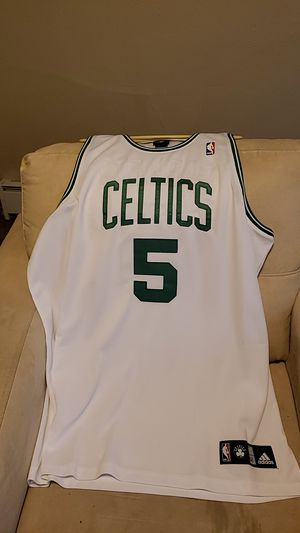 Brand New Size 52 Kevin Garnett Adidas White Celtics Jersey for Sale in Pittsburgh, PA
