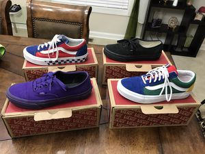 Gorgeous unisex vans shoes ,New condition ,boys size 4 girls/ ladies size 5.5 ,read description ! for Sale in Sandston, VA