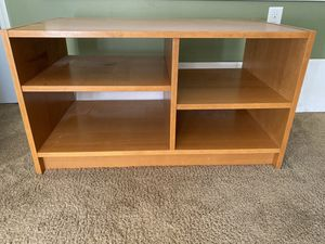 Wood TV stand for Sale in Monroe Township, NJ