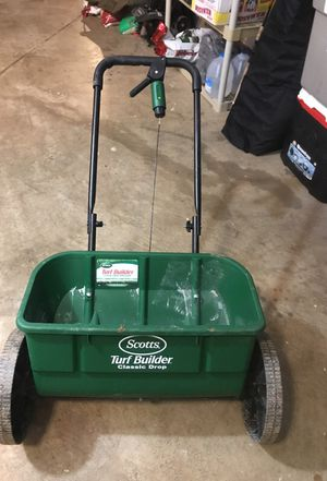 Drop spreader - used once! for Sale in Sterling, VA