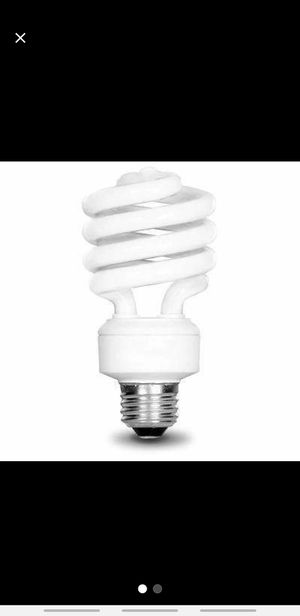 10 pack of Spiral Light Bulbs for Sale in Lutz, FL