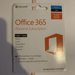 Office 365 year subscription for Sale in La Mesa, CA
