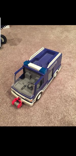 Play Mobile utility truck with support trailer for Sale in Shrewsbury, MA
