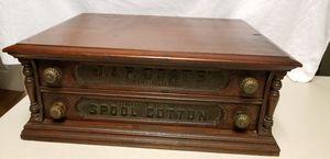 Antique J&P coats spool cabinet for Sale in Woodbridge, VA