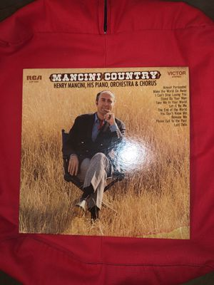 """Record: Mancini's first """"country music"""" album for Sale in Arlington, VA"""