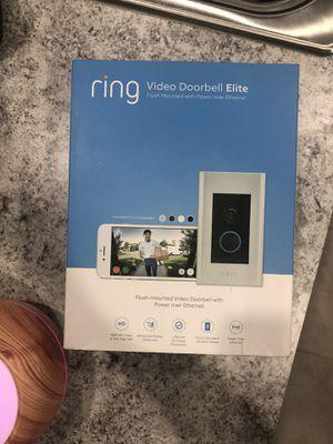 Ring doorbell elite for Sale in Miami, FL