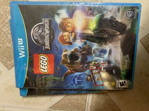 Jurassic world leggo Nintendo Wii U for Sale in Morristown, TN