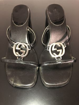 ❤️ Gucci Black Sandals Size: 37 for Sale in Portland, OR