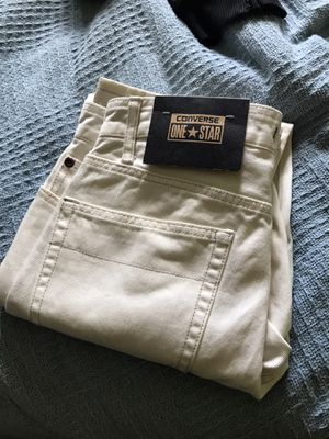White converse jeans size 30x30 for Sale in Rochester Hills, MI