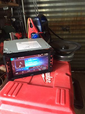Jvc kenwood double din bluetooth for Sale in New York, NY