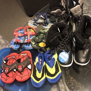 Boys Sandals/snow Boots/rain boots for Sale in Franklin, MA