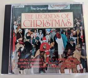 """""""The Legends of Christmas"""" music CD for Sale in Berlin,  CT"""