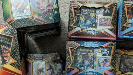 Pokemon Shining Fates Collection for Sale in Chevy Chase,  MD