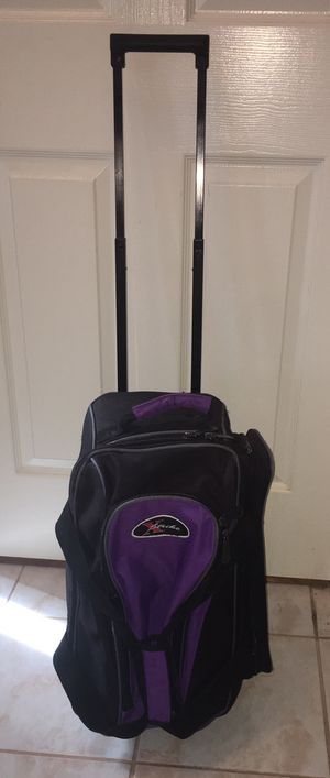 Double ball rolling bowling bag for Sale in Mansfield, TX