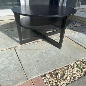 Black/Dark Brown Coffee Table for Sale in Alexandria, VA
