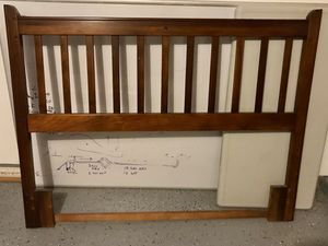 Full size bed metal frame and head board. for Sale in Aubrey, TX