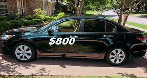 $8OO URGENT For sale 2OO9 Honda Accord EX-L V6 Run and drive very smooth, clean title!! for Sale in Phoenix, AZ
