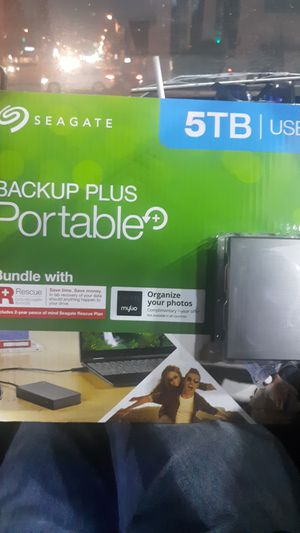 Seagate 5TB Backup Plus Portable Harddrive for Sale in South Gate, CA
