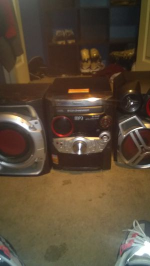 Panasonic stereo system for Sale in Mebane, NC