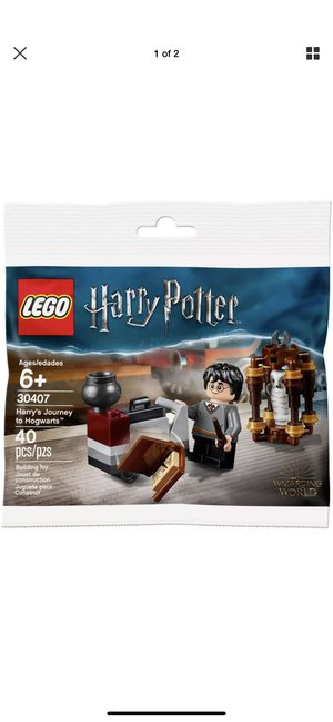 LEGO 30407 HARRY POTTER - HARRY'S JOURNEY TO HOGWART'S (PROMO/POLYBAG)! for Sale in Redding, CA