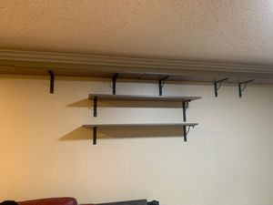 6 Grey Shelves like new for Sale in Jurupa Valley, CA