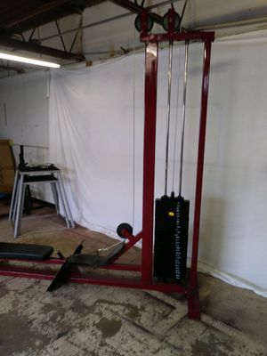 Low row with 300 lb weight stack. Rare find @ $350 for Sale in Richardson, TX