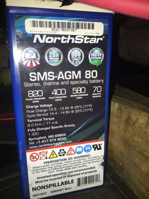 North Star audio battery for Sale in Houston, TX