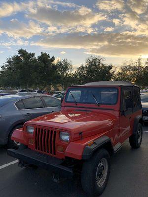 1992 Jeep Wrangler YJ 4x4 for Sale in Tacoma, WA