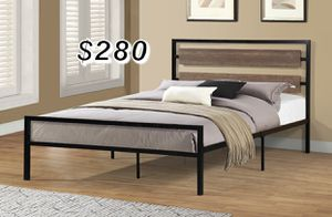 QUEEN BED FRAME AND MATTRESS INCLUDED for Sale in Pico Rivera, CA