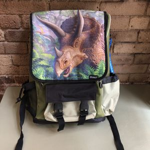 Kidaroo High Quality Triceratops Dinosaur Jungle School Backpack for kids for Sale in New York, NY