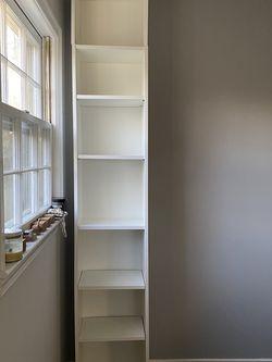 "IKEA ""BILLY"" BOOKCASE - WHITE for Sale in Vienna,  VA"