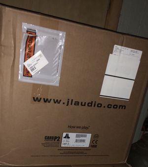 Jl audio w7 12 with Jl made box for Sale in Pittsburgh, PA
