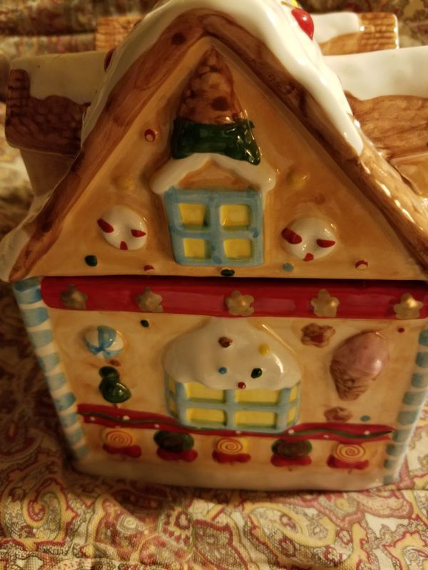 Gingerbread Cookie Jar NEW!!!
