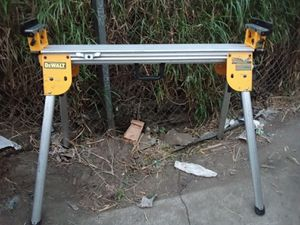 Dewalt Table saw and stand for Sale in Fullerton, CA